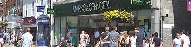 Northbrook Street - Marks and Spencers